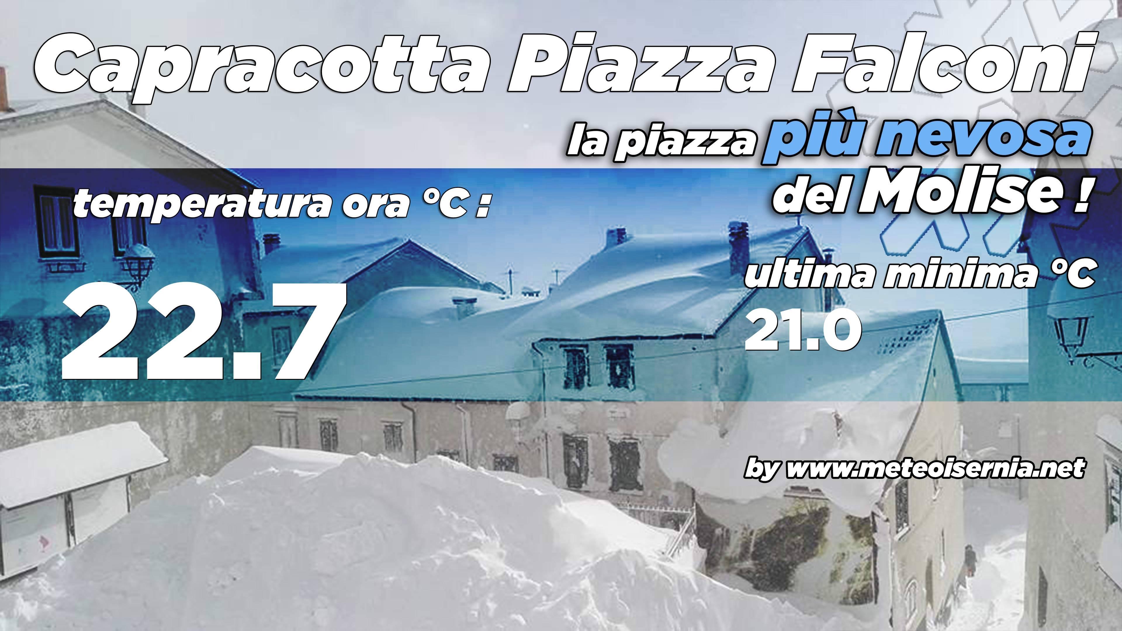 Stazione Meteorologica di Capracotta Piazza Falconi
